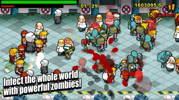 「Infect Them All 2 : Zombies」のスクリーンショット 1枚目