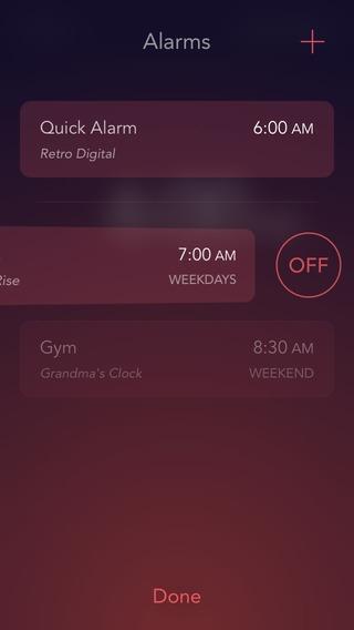 「Rise Alarm Clock」のスクリーンショット 3枚目