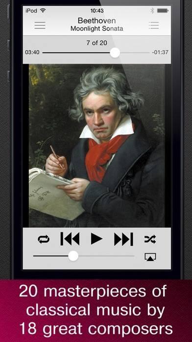 「無料でクラシック音楽の傑作」のスクリーンショット 1枚目