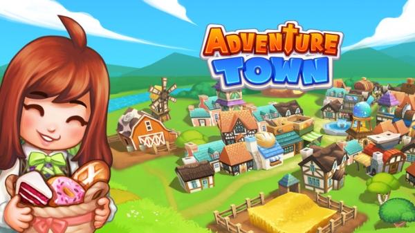 「冒険の町 (Adventure Town)」のスクリーンショット 1枚目