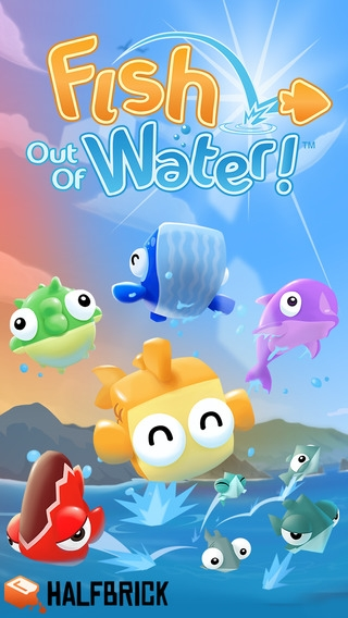 「Fish Out Of Water!」のスクリーンショット 1枚目
