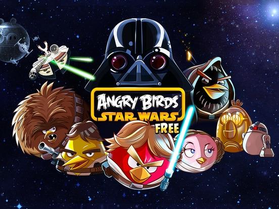 「Angry Birds Star Wars HD Free」のスクリーンショット 1枚目
