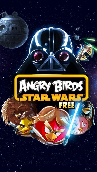 「Angry Birds Star Wars Free」のスクリーンショット 1枚目