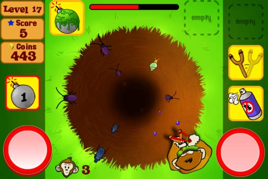 「Bug Off! Lite」のスクリーンショット 2枚目