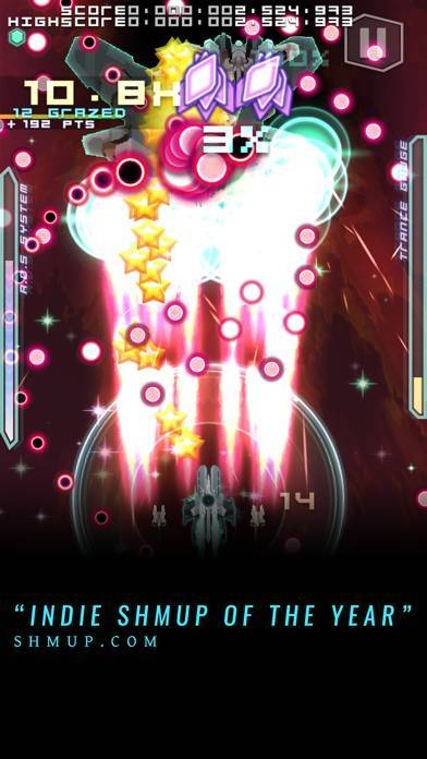 「Danmaku Unlimited 2 - Bullet Hell Shmup」のスクリーンショット 2枚目