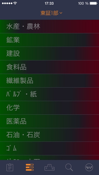 「StockWeather - リアルタイム株価」のスクリーンショット 2枚目