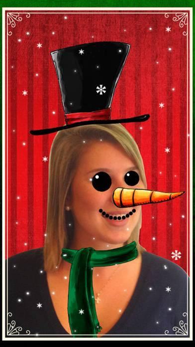 「クリスマス・フォトブース - 友達との面白い写真」のスクリーンショット 3枚目