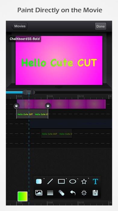 「Cute CUT」のスクリーンショット 2枚目