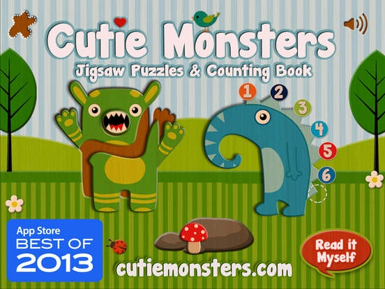 「Cutie Monsters - Jigsaw Puzzles」のスクリーンショット 1枚目