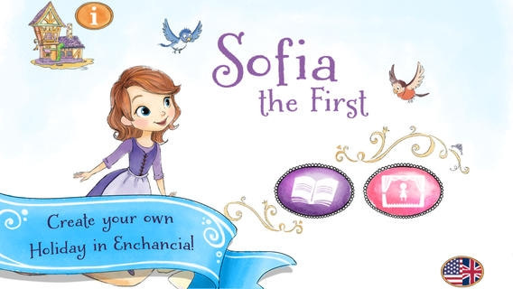 「Sofia the First: Story Theater」のスクリーンショット 1枚目