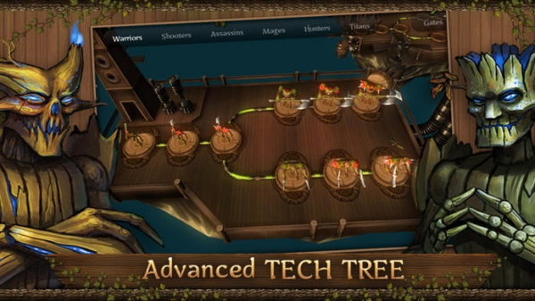「First Wood War - strategy with epic campaign and PvP clash」のスクリーンショット 3枚目