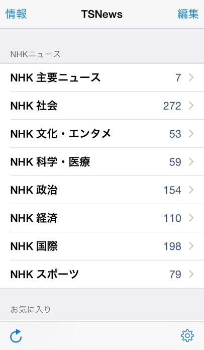 「TSNews - 最新ニュース記事の日本語音声合成」のスクリーンショット 3枚目