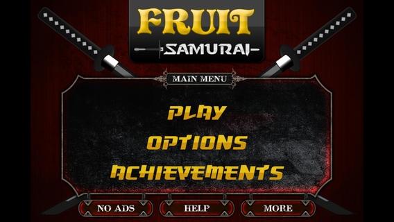 「Fruit Samurai」のスクリーンショット 1枚目