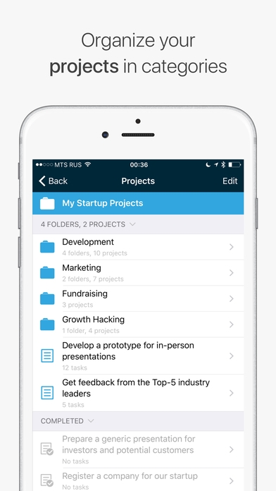 「Chaos Control - Tasks & GTD To-Do Lists」のスクリーンショット 3枚目