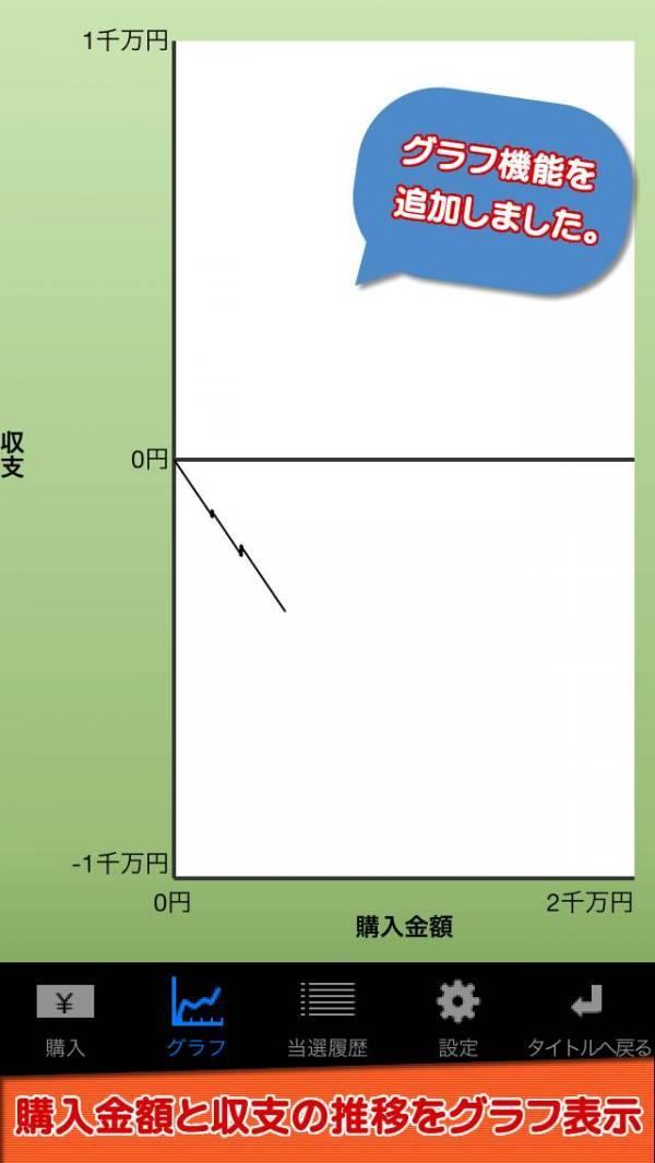 「宝くじシミュレーター」のスクリーンショット 3枚目