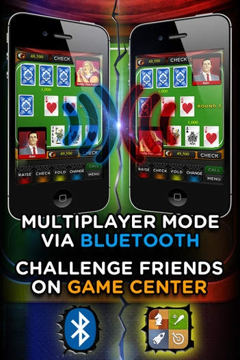 「AAA Poker PRO (カジノ ポーカー ゲーム) – Play The Best Deluxe Casino Card Game Live With Friends (VIP Joker Poker Series & More!) for iPho」のスクリーンショット 2枚目