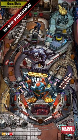 「Marvel Pinball」のスクリーンショット 3枚目