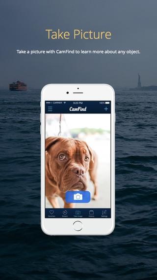 「CamFind - Visual Search, QR Reader, Price Comparison & Barcode Scanner」のスクリーンショット 1枚目