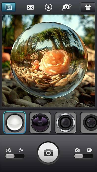 「InFisheye -Fisheye Lens Camera」のスクリーンショット 1枚目
