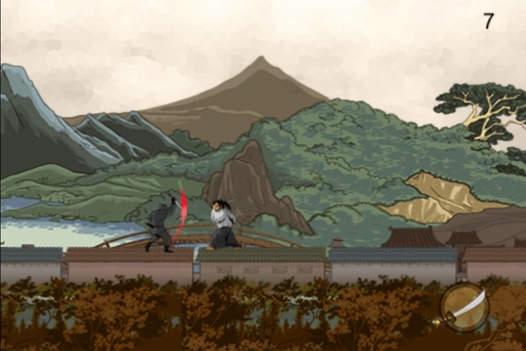 「怒っている忍者ラン - エンドレスランニングゲーム」のスクリーンショット 3枚目
