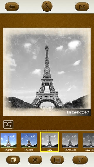 「InstaPhotoFX - Photo Effects & Picture Caption for Instagram」のスクリーンショット 1枚目