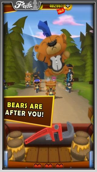 「Grumpy Bears」のスクリーンショット 1枚目