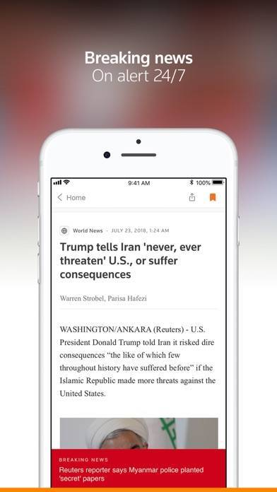 「Reuters News」のスクリーンショット 2枚目