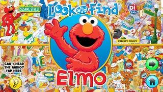 「Look and Find® Elmo on Sesame Street」のスクリーンショット 1枚目