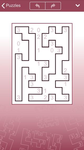 「コンセプティス 囲いパズル」のスクリーンショット 3枚目