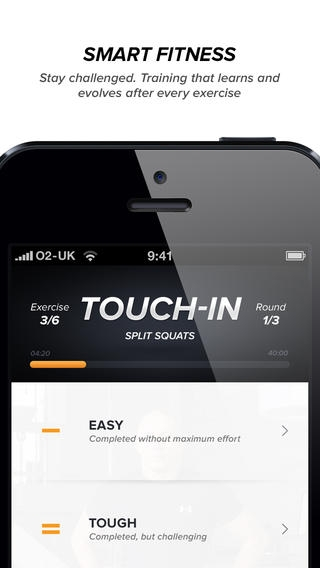 「Touchfit: GSP • The Complete Home Fitness Solution」のスクリーンショット 3枚目