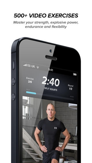「Touchfit: GSP • The Complete Home Fitness Solution」のスクリーンショット 1枚目