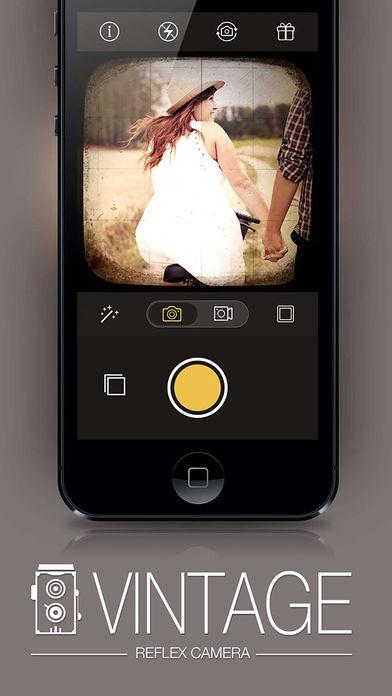 「Reflex - Vintage Camera Photo Edit for Instagram」のスクリーンショット 1枚目