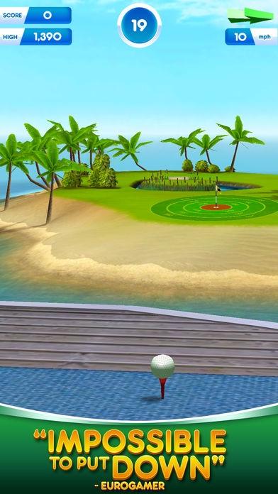 「Flick Golf World Tour」のスクリーンショット 2枚目