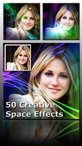 「Ace PhotoJus Space FX Pro - Pic Effect for Instagram」のスクリーンショット 2枚目