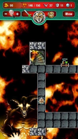 「Mighty Dungeons」のスクリーンショット 2枚目