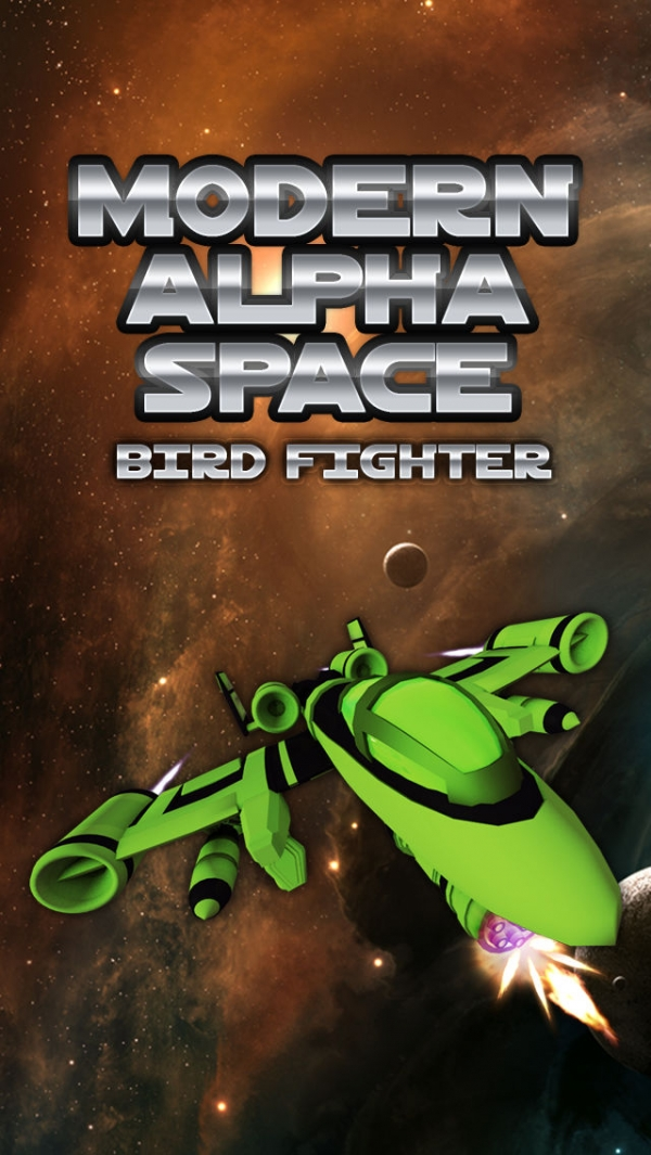 「A Modern Alpha Space Bird Fighters: Action Shooting Combat Game」のスクリーンショット 1枚目