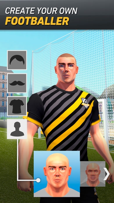 「BE A LEGEND: Your career as a footballer」のスクリーンショット 3枚目