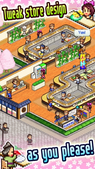 「The Sushi Spinnery」のスクリーンショット 1枚目