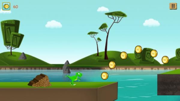 「ベビーディーノラン - 子供のための恐竜ゲーム」のスクリーンショット 2枚目