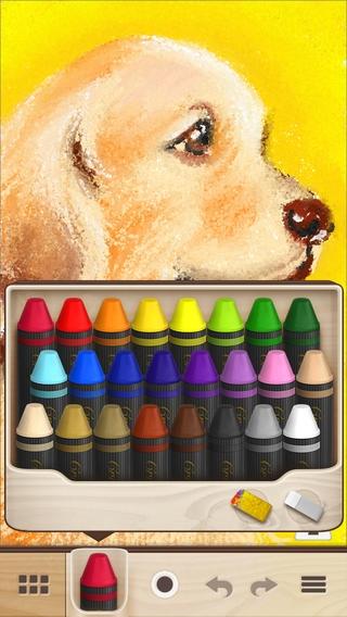「Crayon Style - クレヨンで日常に彩りを」のスクリーンショット 3枚目