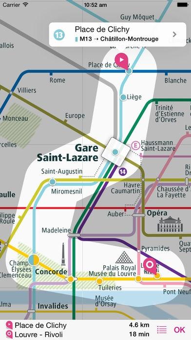 「パリ路線図 Lite」のスクリーンショット 3枚目