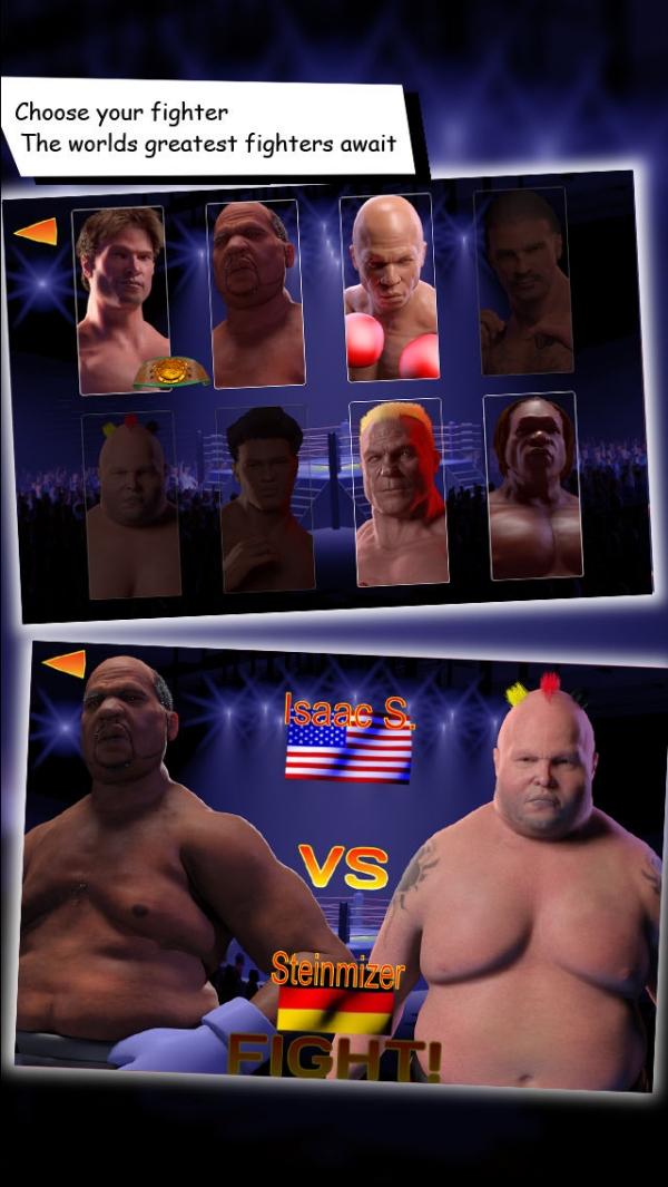 「International Boxing Champions」のスクリーンショット 2枚目