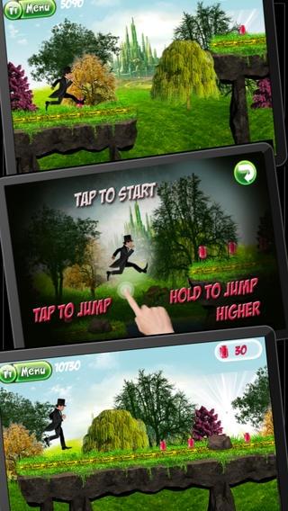 「グレートOZ人種 - マジックエメラルド寺院へのラン  (Great OZ Race - A Run to the Magic Emerald Temple)」のスクリーンショット 3枚目