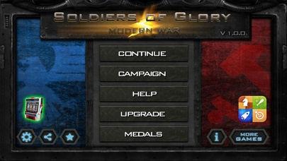 「栄光の兵士:近代戦争防衛」のスクリーンショット 1枚目