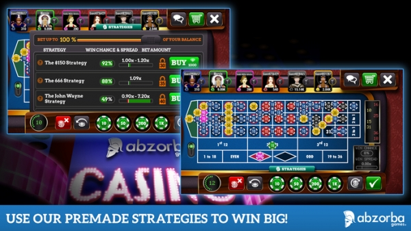 「Roulette Live Casino by AbZorba Games」のスクリーンショット 2枚目