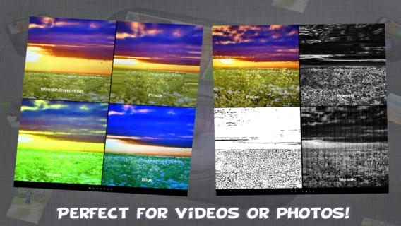 「Cam-FX Video and Photo Effects Lite」のスクリーンショット 3枚目