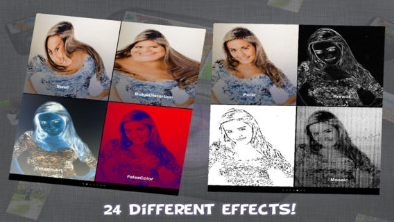 「Cam-FX Video and Photo Effects Lite」のスクリーンショット 2枚目