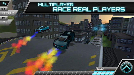 「Jump Racer」のスクリーンショット 3枚目