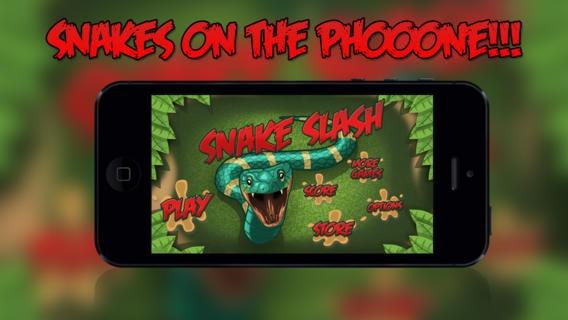 「スネークスラッシュ 自由に: 蛇を切るがキャタピラや、テントウムシを避けるアドベンチャーゲーム」のスクリーンショット 1枚目