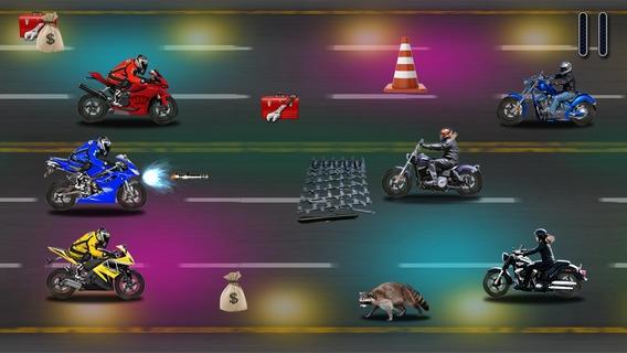 「An Extreme Motorcycle Speed Street Racer Road Dash FREE」のスクリーンショット 2枚目